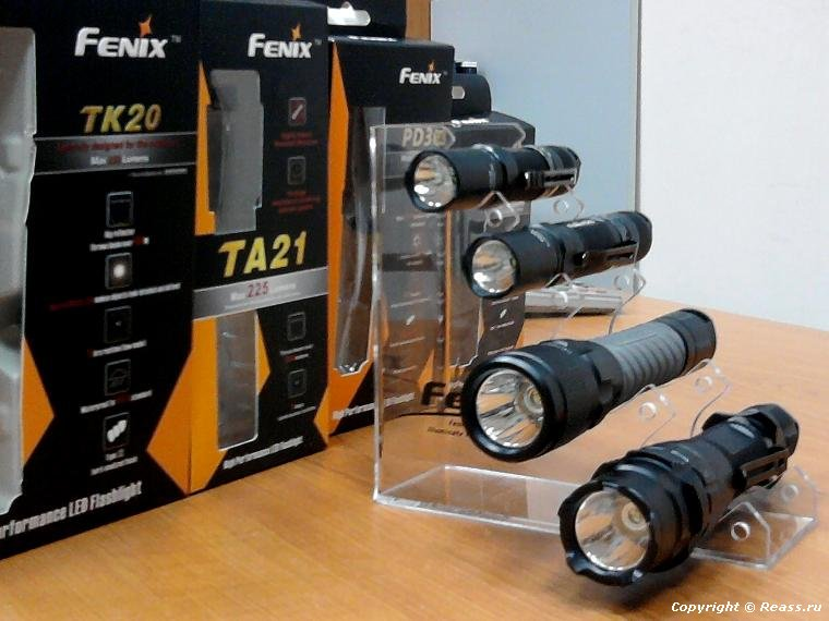 Фонари Fenix Flashlight