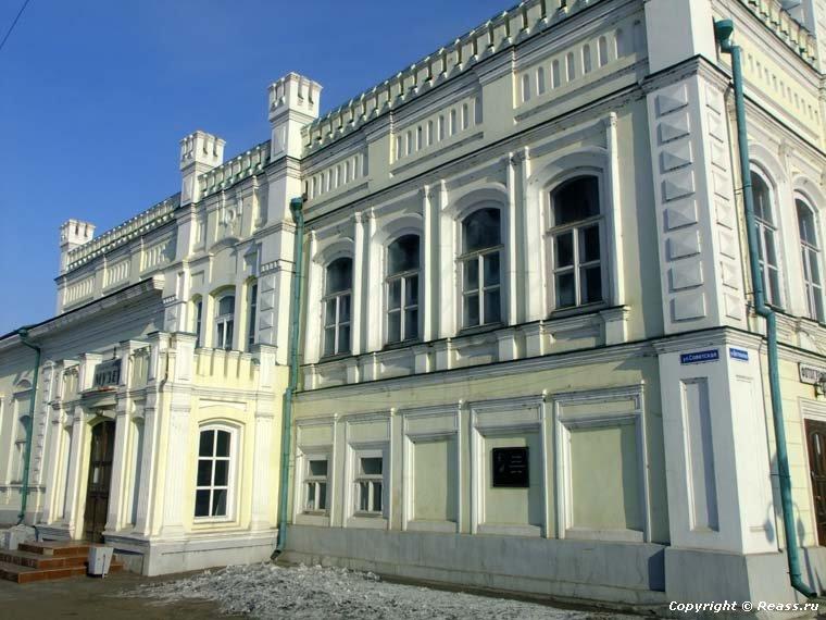 Дворец Бутиных в Нерчинске