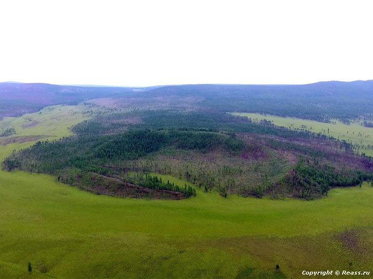 Республика Бурятия. Потухший вулкан «Якша-2»