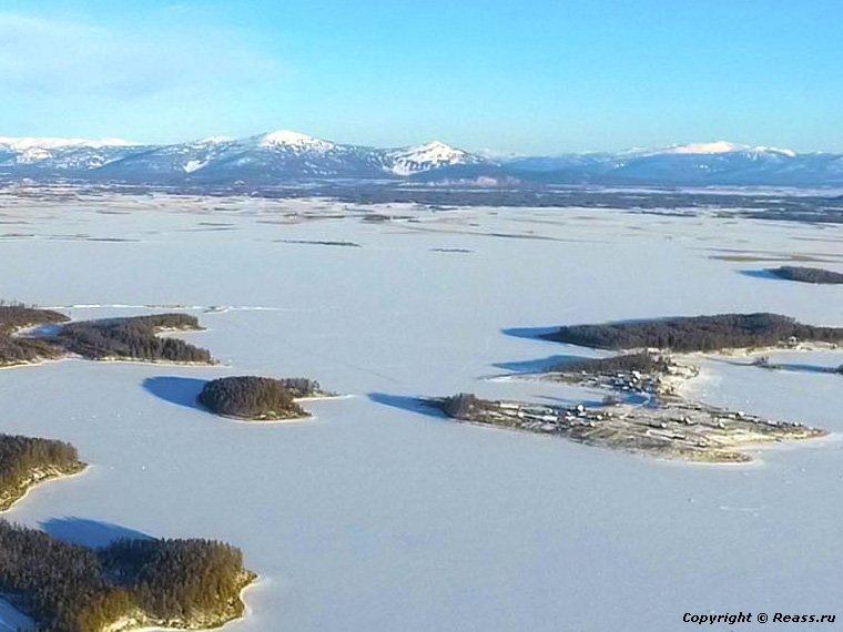 Республика Бурятия. Озеро Бусани, термальный источник