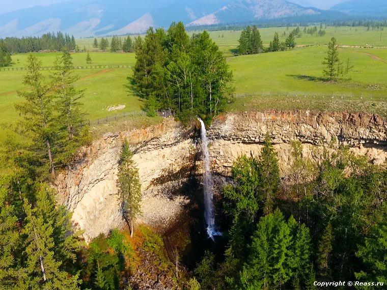 Водопад Сайлак. Окинский район. Бурятия