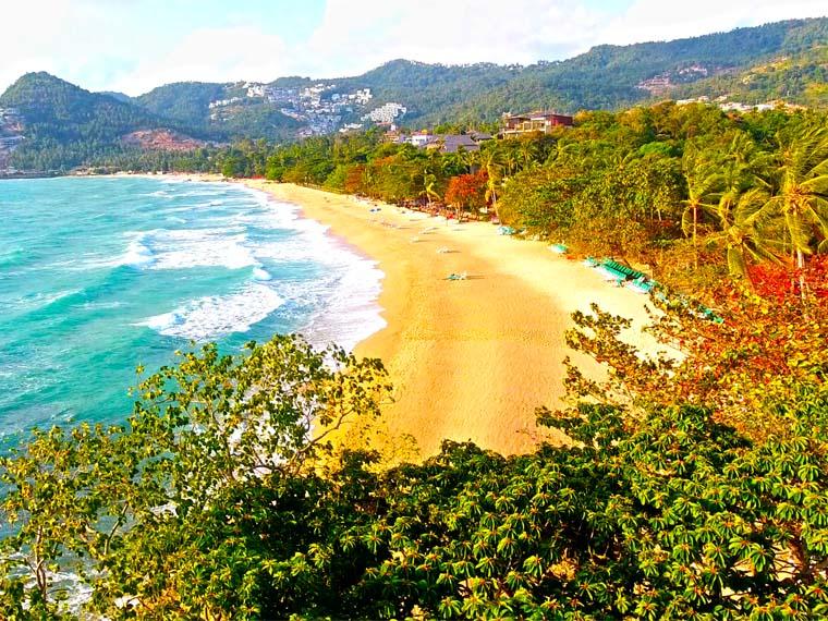 Таиланд. Самуи. Пляж Чавенг