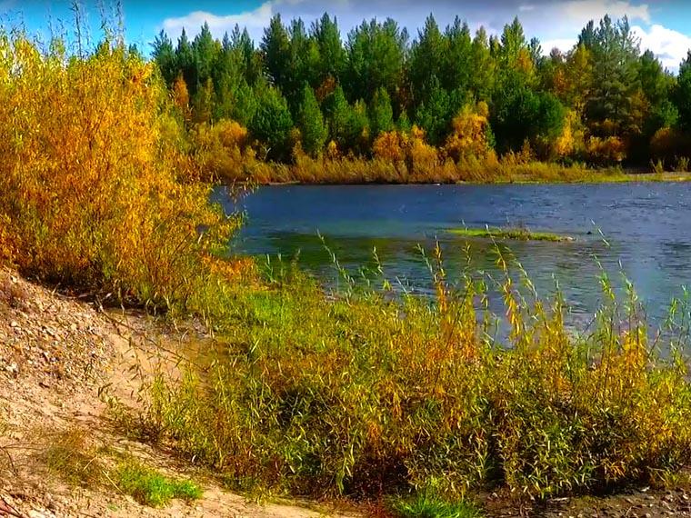 Забайкалье. Река Оленгуй