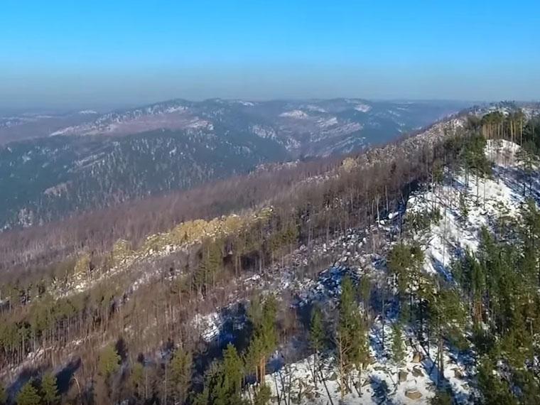 Забайкалье. Хребет Черского, гора Арача