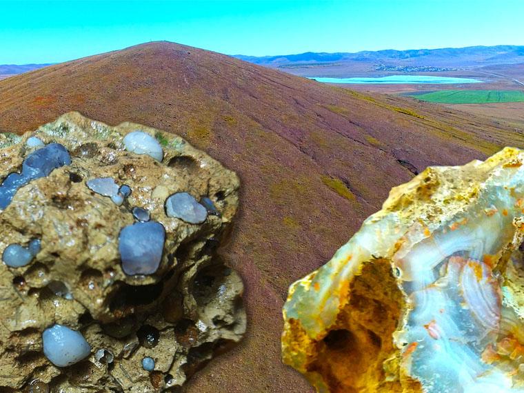 Кремень потухших вулканов Аги. Забайкальский край